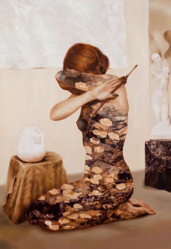 Operadell'artista statunitenseAlison Blickle