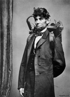 Una rarissima fotografia del presidente Abraham Lincoln scattata durante la sua breve esperienza ancora memorabile come investigatore paranormale - circa 1864
