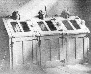 Un asilo nei primi anni del 20 ° secolo
