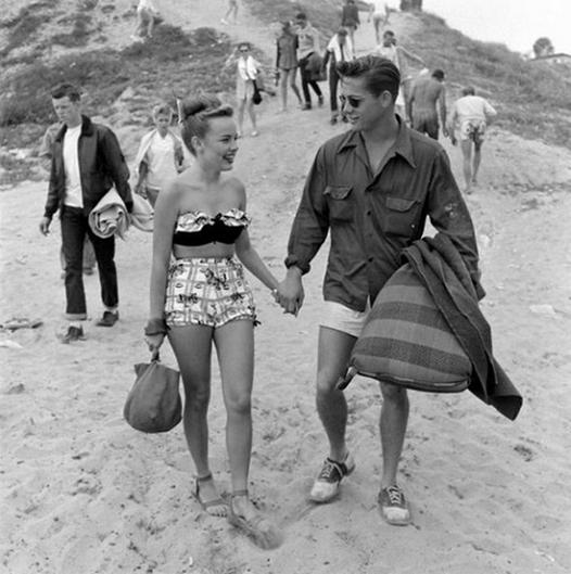 Beach Date, 1950