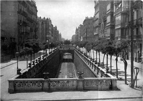 Carrer Aragó 1940