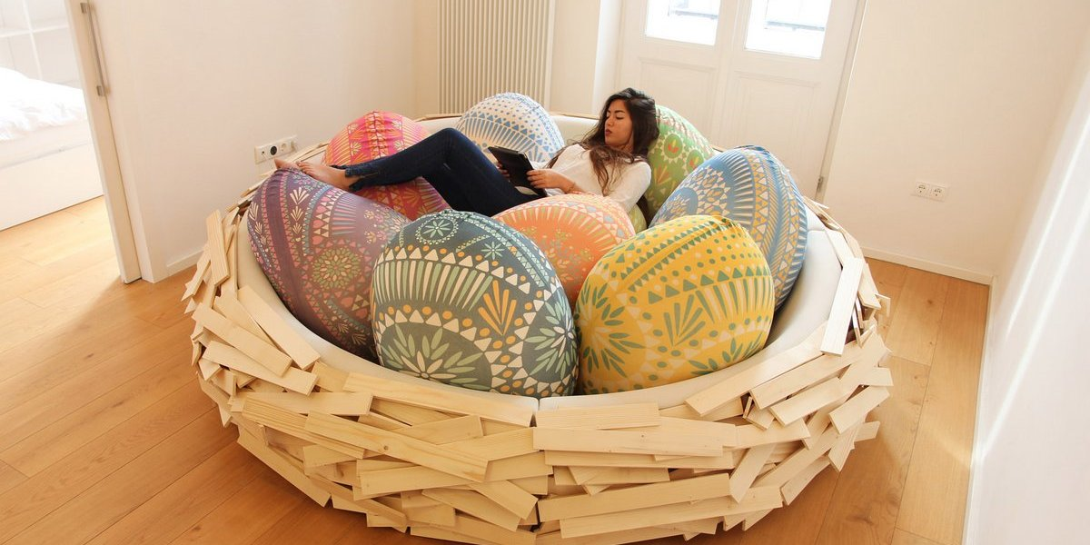 """""""Giant Birdsnest""""dello studio di progettazione con sede in IsraeleOGE Creative Group"""