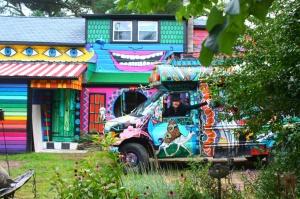 La casa arcobaleno di Katwise