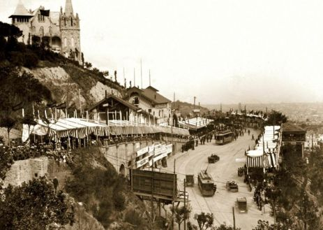 La Copa Tibidabo di Barcellona, 1914