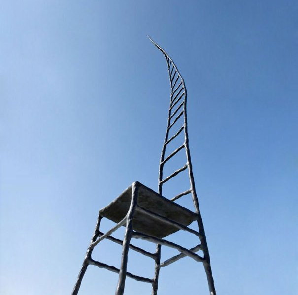"""""""The Empty Chair""""deldesigner olandeseMaarten Baas"""