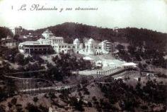 Foto panoramica del Gran Casino de la Arrabassada, Barcelona