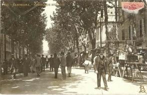Rambla de los Estudios. Lluis Bartrina. Archivio Andreu Valldeperas