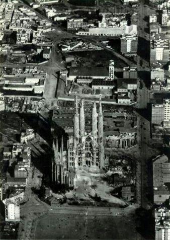 Sagrada Familia, Barcellona, 1910