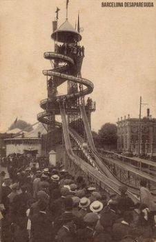 Saturno Parc Atraccions. Parc de la Ciutadella 1911-1920