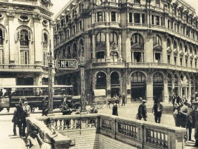 The Dark House - Barcellona antica -la metropolitana di Barcellona nel 1920