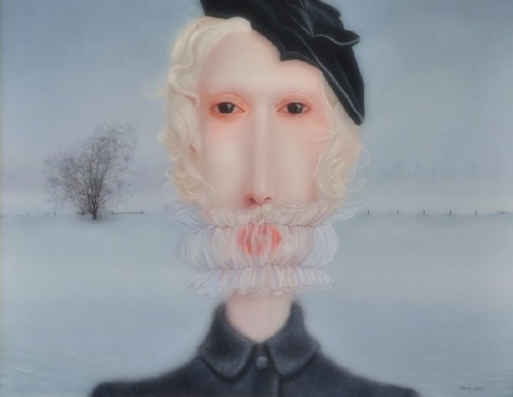 Dipinto dell'artista canadese Troy Brooks