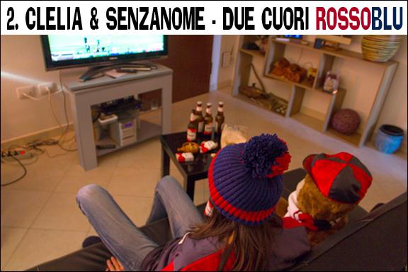 Clelia e SenzaNome - Due cuori rossoblu