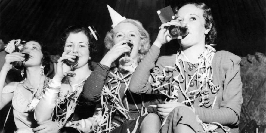 Veglione di Capodanno negli Stati Uniti Nel 1933