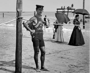 Bagnino a New York nel 1920