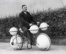Bici anfibia 'Cyclomer' (Parigi, 1932)
