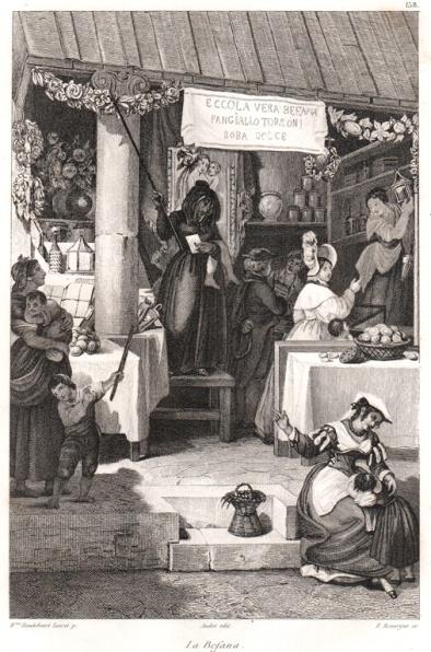 Befana, 1835