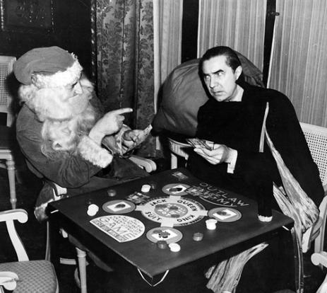 Bela Lugosi gioca a poker con Babbo (1940)