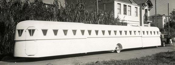 Caravan estensibile (Francia, 1934)