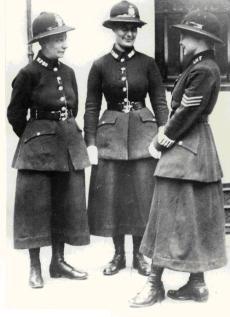 Agenti di polizia donne, Londra, 1919