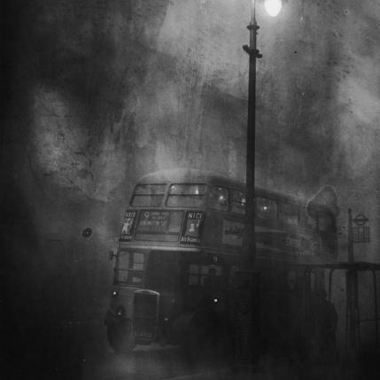 Fleet Street, Londra - Grande Smog il 6 dicembre 1952