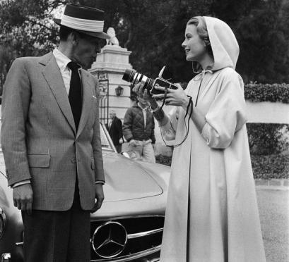 Frank Sinatra e Grace Kelly