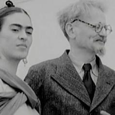 Frida Kahlo e Leon Trotsky, che hanno avuto una breve ma intensa storia d'amore