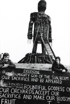 Gigante usato nel film Wicker Man, 1973