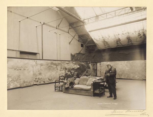 Henri Manuel - Claude Monet, Giverny 1920