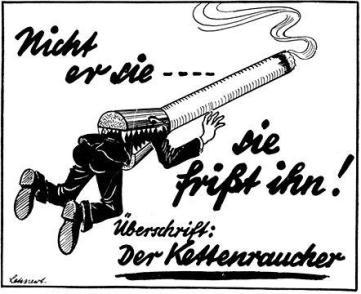 Hitler incoraggia i suoi associati a smettere di fumare offrendo un orologio d'oro a tutti coloro in grado di smettere
