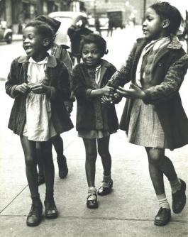 Bambini a Harlem, 1947
