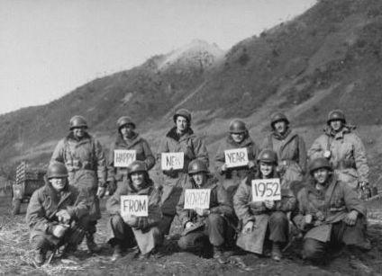 LIFE Magazine - foto di truppe di stanza in Corea 1952