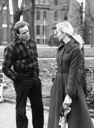 Marlon Brando e Eva Marie Saint