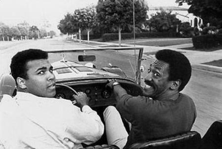 Muhammad Ali e Bill Cosby