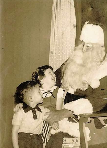New Orleans grande magazzino di Babbo Natale 1954