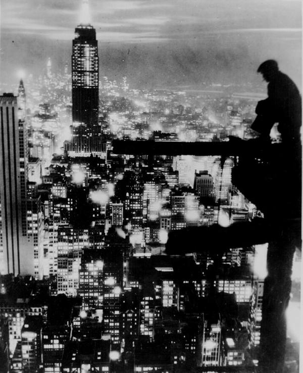 Vista notturna di New York, 1935