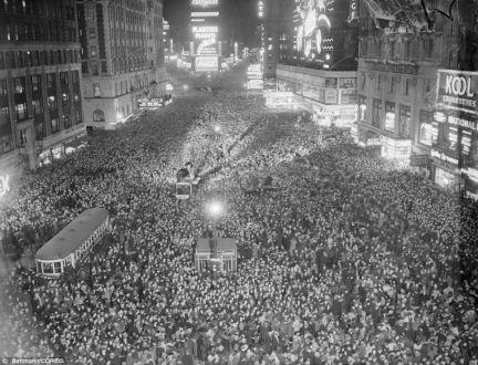 Capodanno 1937 in Times Square