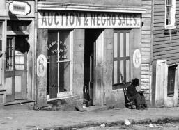 Un negozio di schiavi, 1864