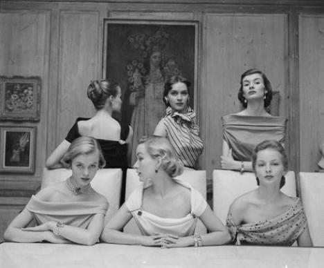 Scollature mozzafiato nel 1950