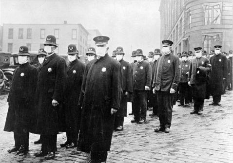 L'epidemia di influenza del 1918