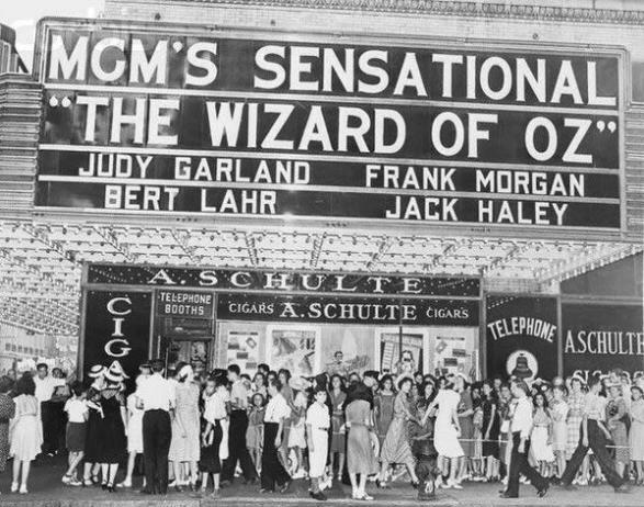 La premiere di New York del Mago di Oz, ca. 1939