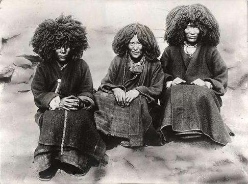 Donne tibetane, Ram Gelong 1934