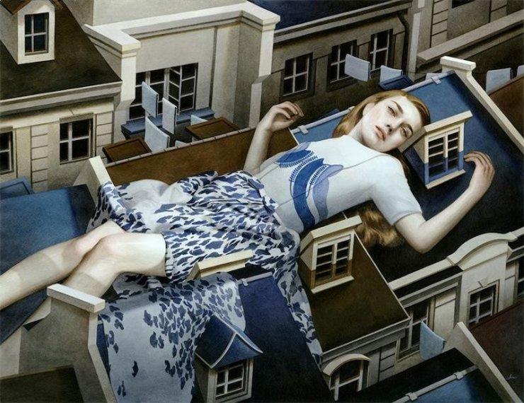 Operadell'artista statunitenseTran Nguyen