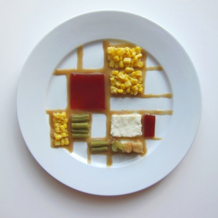 """Thanksgiving Special""dell'artista statunitenseHannah Rothstein - Piet Mondrian"