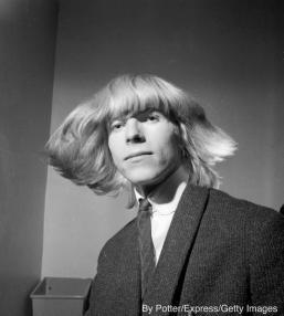 La Pop star britannica Davy Jones, prima che cambiasse il nome in David Bowie, 3 Marzo 1965