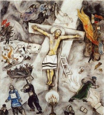 Crocifissione bianca. 1938, olio su tela. marc chagall