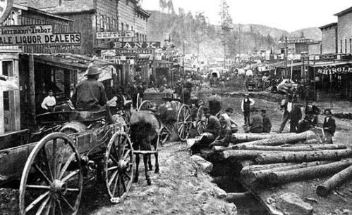 Deadwood, South Dakota, 1876