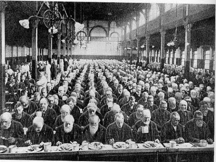 Pasto in fabbrica 1901