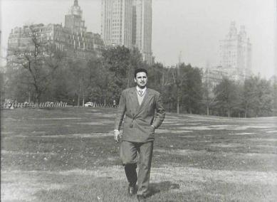 Fidel Castro al Central Park, New York, 1955