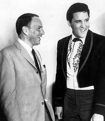 Frank Sinatra e Elvis Presley, 1965