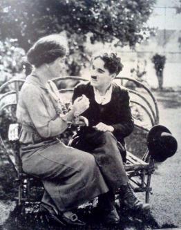 Helen Keller e Charlie Chaplin, 1919